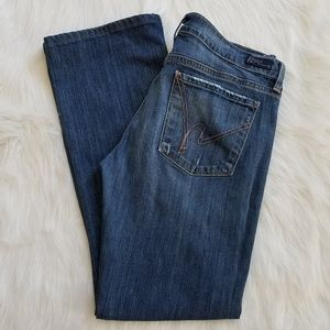 Citizens of Humanity Distressed Bootcut Jeans